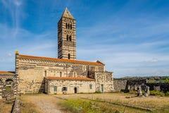 Trinidad santa de la basílica de Saccargia Fotos de archivo libres de regalías