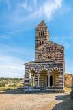 Trinidad santa de la basílica de Saccargia Foto de archivo libre de regalías