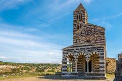 Trinidad santa de la basílica de Saccargia Fotografía de archivo