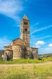 Trinidad santa de la basílica de Saccargia, visión desde la parte posterior Fotos de archivo libres de regalías