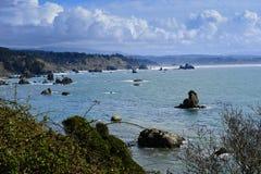 Trinidad-Schacht, Kalifornien Lizenzfreies Stockbild