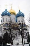 Trinidad Sergius Lavra en Rusia Iglesia de Dormition Fotografía de archivo libre de regalías