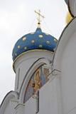 Trinidad Sergius Lavra en Rusia Iglesia de Dormition Foto de archivo libre de regalías