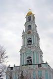 Trinidad Sergius Lavra en Rusia Iglesia de Dormition Imagen de archivo libre de regalías