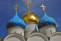 Trinidad Sergius Lavra, Sergiev Posad, Rusia Iglesia de Dormition Imagenes de archivo