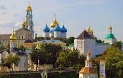 Trinidad Sergius Lavra, Sergiev Posad, Rusia Mundo Herit de la UNESCO Foto de archivo libre de regalías