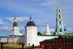 Trinidad Sergius Lavra, Sergiev Posad, Rusia Mundo Herit de la UNESCO Imagen de archivo libre de regalías