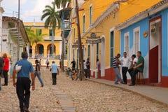 Trinidad street scene Stock Photo