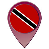 Trinidad and Tobago flag Royalty Free Stock Image