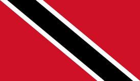 Trinidad and Tobago Flag royalty free stock photo