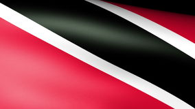 Trinidad & Tobago Flag Waving. Trinidad & Tobago Flag Waving, video footage stock video