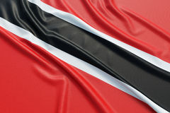 Trinidad and Tobago flag Royalty Free Stock Images