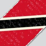 Trinidad and Tobago grunge flag. Vector illustration. Royalty Free Stock Image