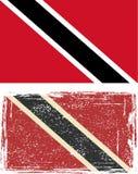Trinidad and Tobago grunge flag. Vector Royalty Free Stock Photo