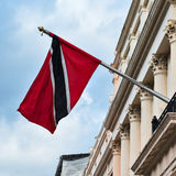 Trinidad and Tobago high commission London Flag Stock Photo