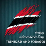 Trinidad and Tobago Independence Day Patriotic. Royalty Free Stock Photography