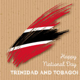 Trinidad and Tobago Independence Day Patriotic. Royalty Free Stock Images