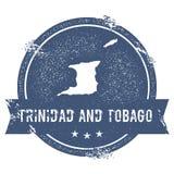 Trinidad and Tobago mark. Royalty Free Stock Photography