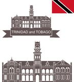 Trinidad and Tobago . Set Stock Photo