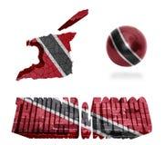 Trinidad and Tobago Symbols Royalty Free Stock Image