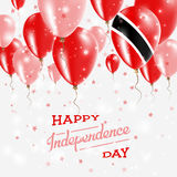 Trinidad and Tobago Vector Patriotic Poster. Royalty Free Stock Photography