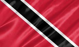 Trinidad- And Tobagomarkierungsfahne stockfotos