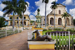 Trinidad town, cuba Stock Images