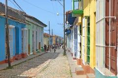Trinidad ulica Zdjęcia Stock