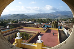 Trinidad - UNESCO World Heritage. A view of the wonderful city of Trinidad, in the south of Cuba. This area  is now designed as UNESCO World Heritage, making Royalty Free Stock Images