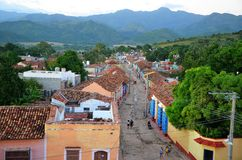 Trinidad - Unesco world site, Cuba Royalty Free Stock Image