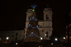 Trinità dei Monti , Rome Stock Images