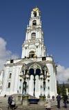 Trinità Lavra della st Sergius. Belltower Fotografie Stock