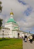 Trinità Lavra della st Sergius. Portone santo Fotografie Stock Libere da Diritti