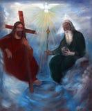 trinità santa Immagine Stock