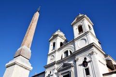 TrinitÃ-dei Monti Roma Lizenzfreies Stockfoto