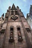 trinité de statues de nyc de matthew de repère d'église Images stock