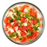 Trinité de tomate, paprika, oignons Images libres de droits