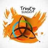 Trinité dimanche illustration libre de droits