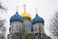 Trinité Sergius Lavra en Russie Église de Dormition Images stock