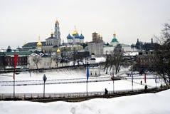 Trinité Sergius Lavra en Russie Photo libre de droits