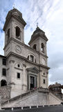Trinita dei Monti Royalty Free Stock Photo