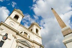 Trinita dei Monti Basilica Royalty Free Stock Image