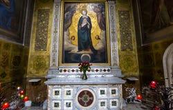 Trinita dei Monti church, Rome, Italy Royalty Free Stock Photo