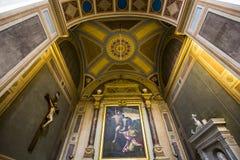 Trinita deiMonti kyrka, Rome, Italien Royaltyfri Fotografi