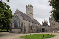 Trinitarian Church in, Adare, Ireland. Built around 1200. Adare is a town in County Limerick, Ireland Royalty Free Stock Images