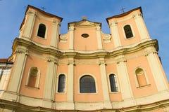 Trinitarian Church of Bratislava Stock Image