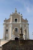 Trinitarian Church. Kamenetz-Podolsk, Ukraine Stock Images