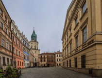 Trinitarian Tower in Lublin, Poland Stock Images