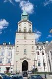 Trinitarian Turm, wo lokalisiertes Museum der religiösen Diözesankunst ist stockfotos