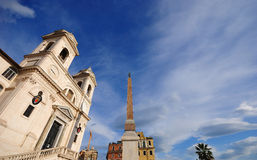 Triniti dei Monti. Royalty Free Stock Images